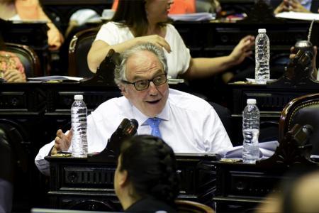 El futuro presidente de la comisión de Presupuesto y Hacienda, Carlos Heller.