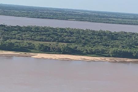 bajante río Paraná