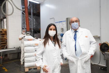Empresa láctea entrerriana recibió financiamiento del BICE para tecnificar su planta