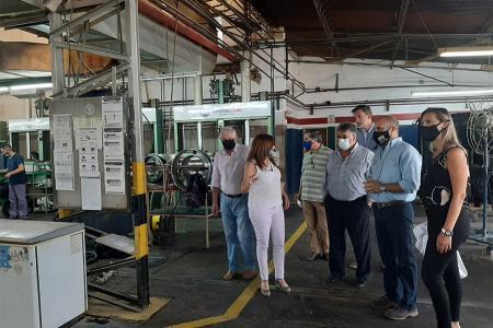 La empresa Imperial Cord en Gualeguaychú reanudó recientemente su producción, luego de haber cerrado en 2019.