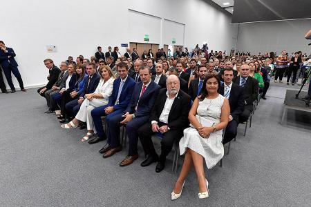 Intendentes dieron su apoyo a la reforma previsional que planteó el gobernador Bordet.
