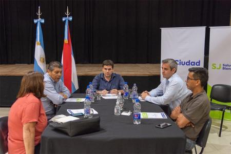 Los intendentes del Departamento Colón se reunieron para unificar acciones frente a la pandemia del coronavirus.