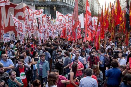 Movilización de partidos de izquierda