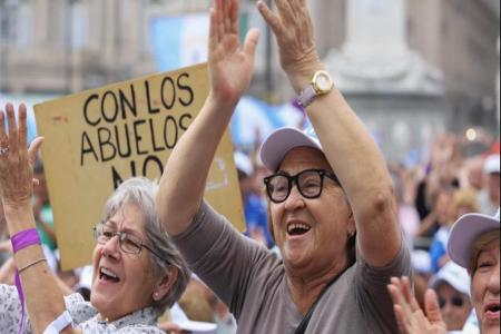 protesta jubilados
