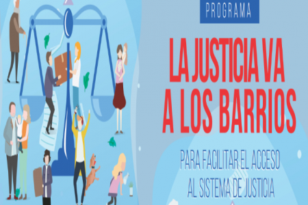 """""""La Justicia va a los barrios"""" estará en la escuela Malvinas Argentinas de Paraná"""