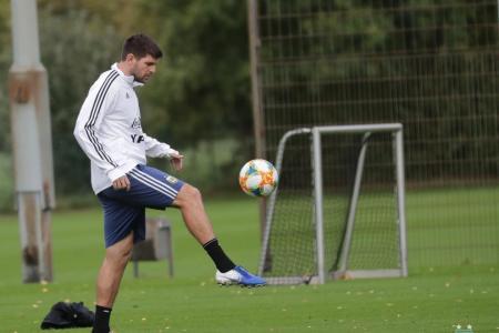 El uruguayense Kannemann se sumó a los trabajos de la selección argentina en Mallorca