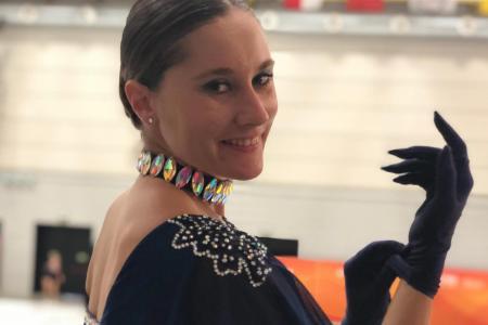 Patín artístico: la entrerriana Lucía Kindebaluc anunció su retiro