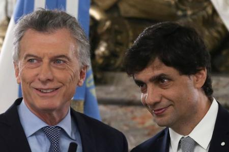 Macri y Lacunza