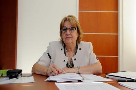 Marta Landó es presidenta del Consejo General de Educación.