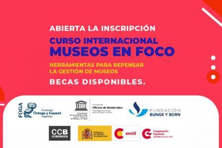 """Curso Internacional """"Museos en Foco"""""""