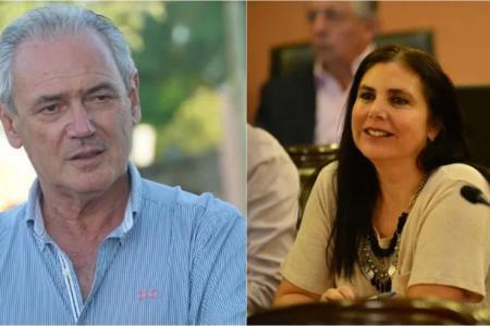 Atilio Benedetti y Gabriela Lena.
