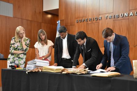 apertura de sobres Tribunales de Gualeguaychú