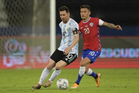 """Según Lionel Messi, """"faltó tranquilidad para ganar"""" ante Chile en la Copa América"""