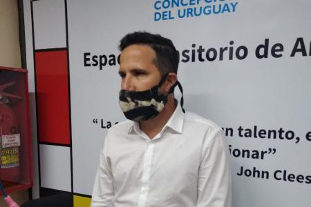 Lucio Amavet en Concepción del Uruguay