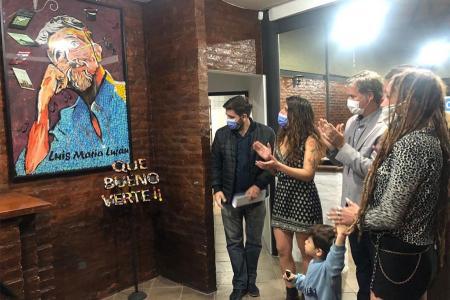 Se reinauguró el Centro Cultural Gualeguaychú que lleva el nombre del artista Luis Luján.