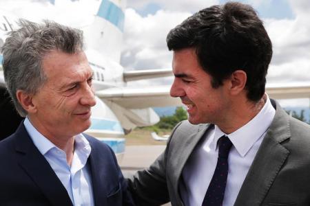 Fotografía de archivo de Macri y Urtubey, durante una visita del Presidente a Salta a fin del año pasado.