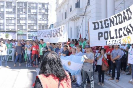 La Multisectorial marchó en defensa del sistema previsional provincial