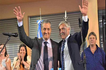 Sergio Martínez intendente - Jorge Riheme viceintendente