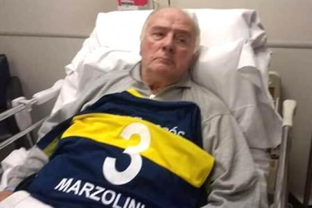El ex Boca Silvio Marzolini está internado en su casa y en grave estado