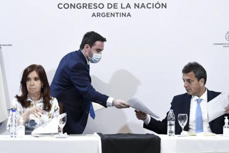 Sergio Massa y Cristina Kirchner