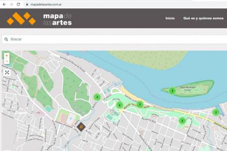 Mapa de las Artes