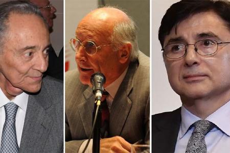 Héctor Magnetto y José Aranda son accionistas y autoridades del Grupo Clarín, que recurrió a sociedades en paraísos fiscales. Jorge Fontevecchia, periodista y co-fundador de Perfil, aparecen en la filtración por una empresa de su grupo en Uruguay.