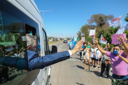 El Presidente Alberto Fernández volvió a convocar a la unidad de todos los sectores para fortalecer a la Argentina.