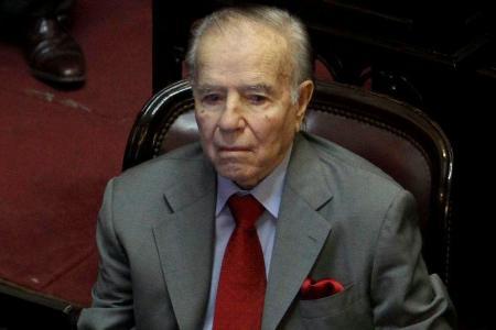 Menem va a juicio oral por la voladura de la Fábrica Militar de Río Tercero