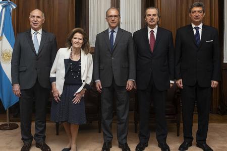 Ministros de la Corte