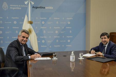 Agustín Rossi y Daniel Arroyo.