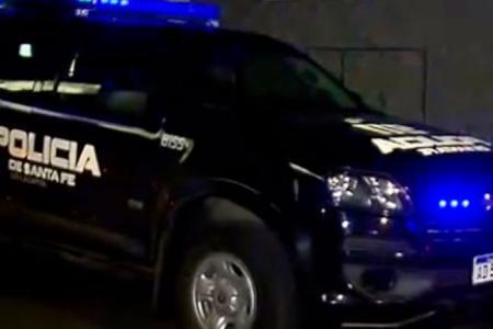 móvil policial de Santa Fe