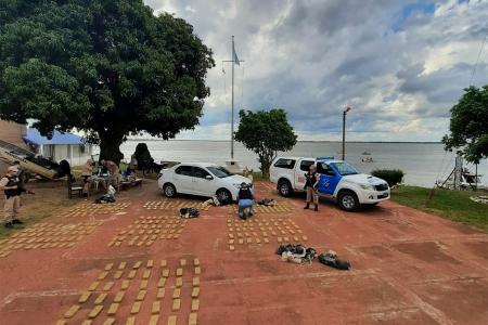 El secuestro de la droga fue el resultado de dos operativos realizados en las provincias de Misiones y Corrientes.