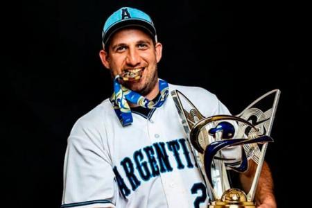 Softbol: el paranaense Bruno Motroni dejará la capitanía de la selección argentina