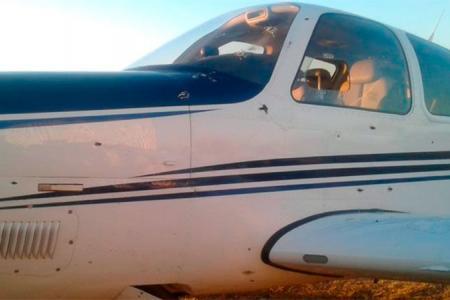 Atacaron con ametralladora la avioneta de un empresario con negocios en Entre Ríos