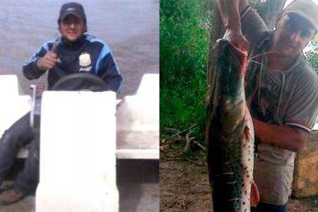 Osvaldo Ricle, pescador desaparecido