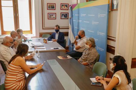 Martín Piaggio con Asamblea Ambiental