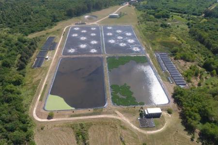 La Municipalidad de Gualeguaychú anunció que desde el viernes la planta de tratamientos de efluentes trabaja al 100 por ciento, porque se logró la extracción y secado de los barros.