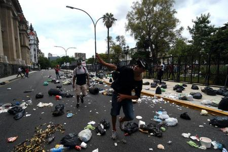 protesta libertad Milagro Sala