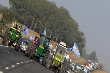 Protesta del agro
