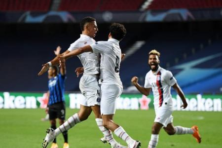 Fútbol: con presencia argentina, PSG eliminó a Atalanta y se metió en semifinales