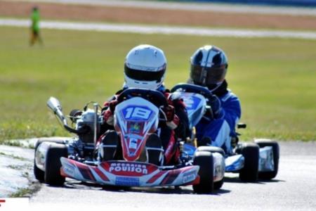 Pilotos de karting tuvieron su ensayo en el autódromo de Concordia