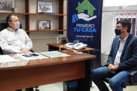 Planifican nuevas viviendas para tres localidades entrerrianas