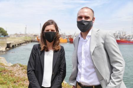 Raverta y Guzmán en Mar del Plata