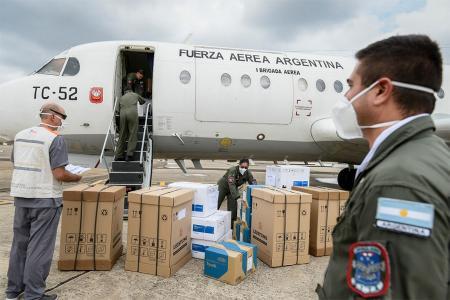 El Ministerio de Salud inició la entrega de 35 mil reactivos para diagnosticar el nuevo coronavirus en las 24 jurisdicciones del país. A Entre Ríos le asignaron mil unidades.