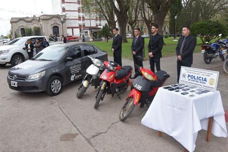 El gobierno entrerriano destinó otros vehículos incautados como resultado de la lucha contra el narcomenudeo, luego de que las causas tuvieran sentencia judicial.