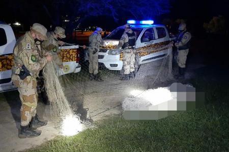 Los operativos se realizaron sobre el río Gualeguay, donde se secuestraron redes y dos personas fueron notificadas por infringir la Ley Provincial de Pesca.
