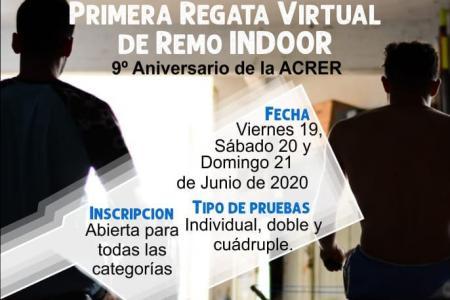 La Asociación de Clubes de Remo de Entre Ríos organiza la primera regata virtual indoor