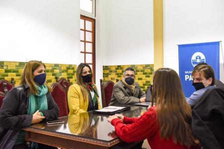 reunión COES, Municipalidad de Paraná