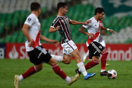 Copa Libertadores: River se durmió y empató con Fluminense en el Maracaná
