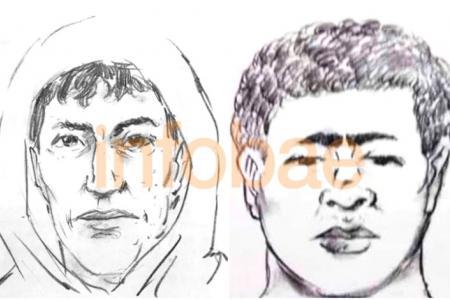 identikit de los dos sospechosos